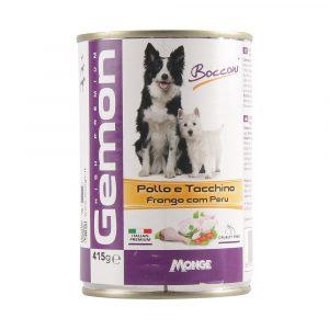 Ração Gemon Lata Patê de Frango com Peru para Cães 415g