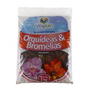 Terra Especial para Orquídeas e Bromélias Vitaplan 2Kg