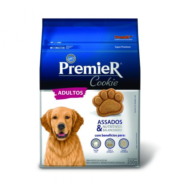 Petisco Premier Cookie para Cães Adultos 250g