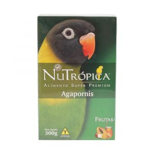 Ração Nutrópica para Pássaro Agapornis com Frutas 300g