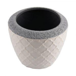Vaso Trento Branco D20 A16 133282