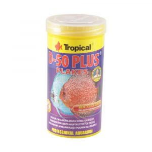 Ração Tropical D-50 Plus Flakes 50g