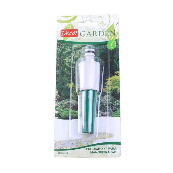 Esguicho 5´´ para Mangueiras 3/4´´ Decor Garden 5118