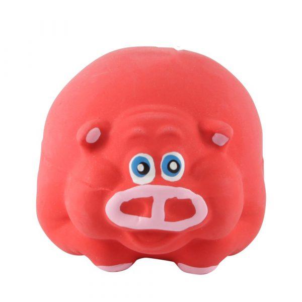 Brinquedo Látex Porquinho Bola Savana Pet