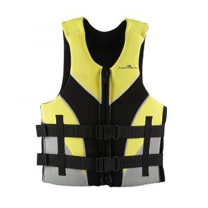 Colete Ventura Capacidade para 40 a 50kg cor Amarelo e Preto