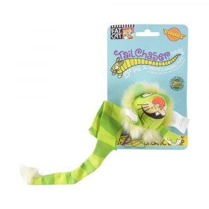 Brinquedo para Gatos Tailchasers com Catnip Verde