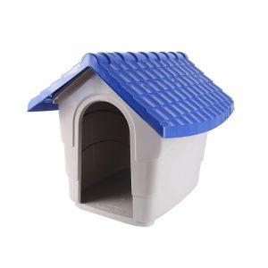 Casinha para Cães Nº02 Azul Plast Pet