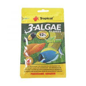 Ração Tropical 3 Algae Flakes Sachê 12g