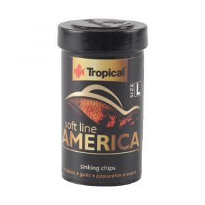 Ração Tropical Soft Line America Grânulos Grandes (Chips) 60g