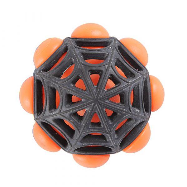Brinquedo Bola Aranha Pequena Laranja