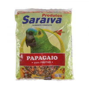 Ração Saraiva para Papagaio com Frutas 500g