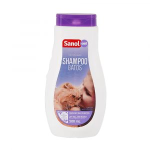 Shampoo para Gatos Sanol Cat 500mL