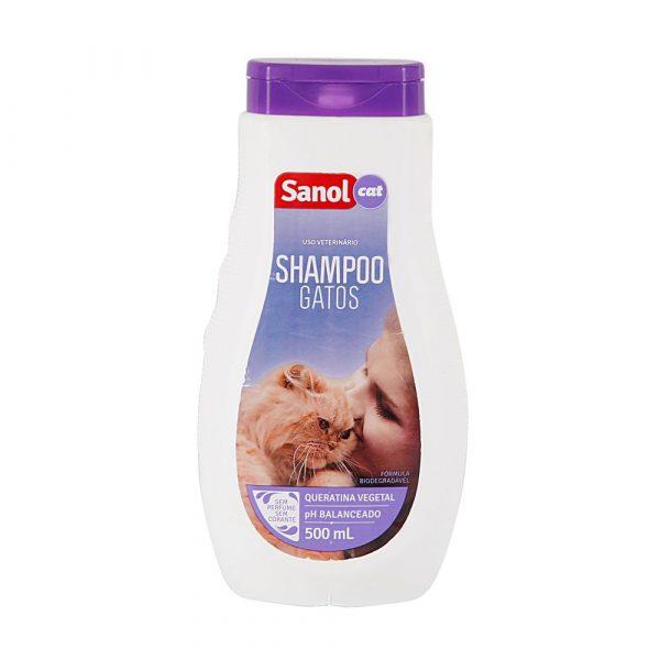 Shampoo para Gatos Sanol Cat 500mL