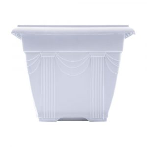 Floreira Plástica Nutriplan Branca N01