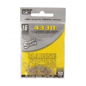 Anzóis para Pesca 4330 N016 Super Strong Pacote com 50 Unidades