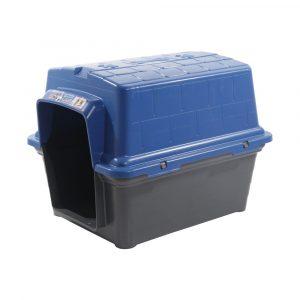 Casinha Plástica N02 Furacão Pet Azul
