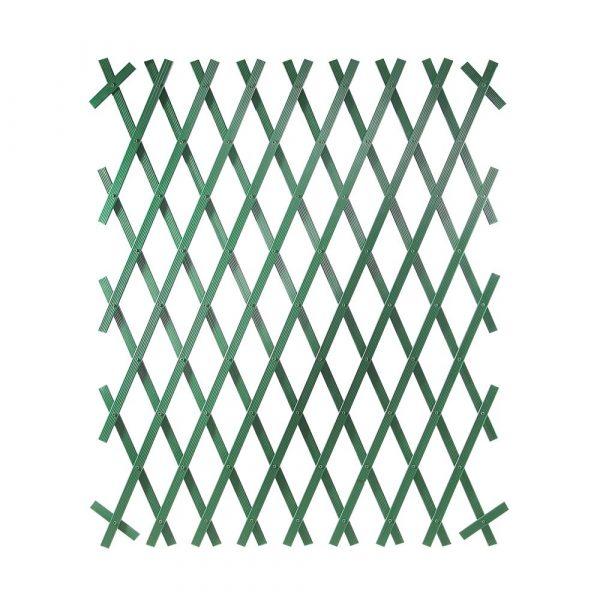 Treliça Verde de PVC 1.0 x 2.0 Top Garden