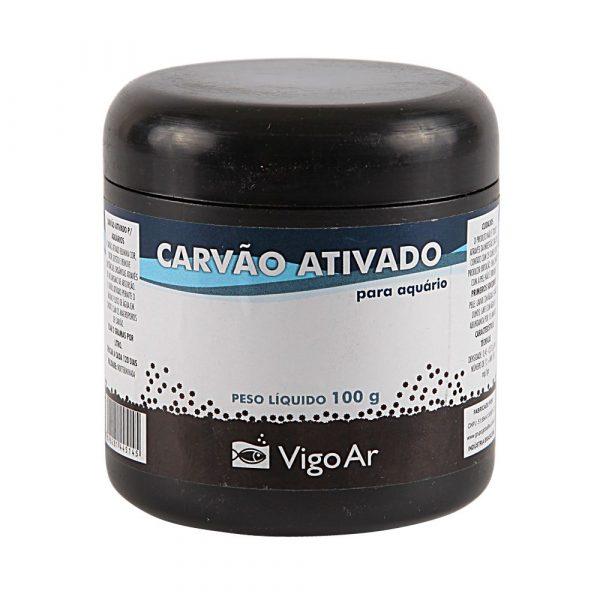 Carvão Ativado Vigo Ar para Aquário 100g