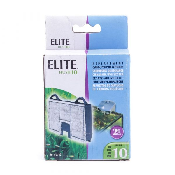 Refil para Filtro Elite Hush 10 Carbon