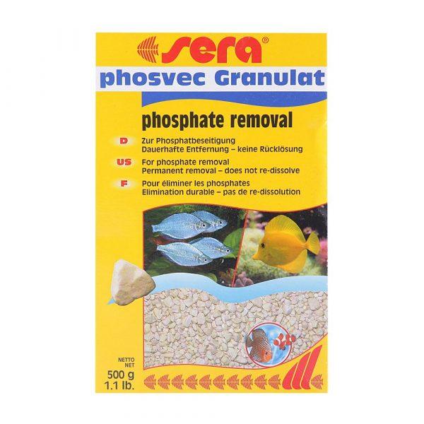 Sera Phosvec Granulate para Água Doce e Salgada 500g