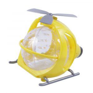 Acessório para Hamster Helicóptero Amarelo