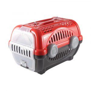 Caixa de Transporte Luxo N01 Vermelho Furacão Pet