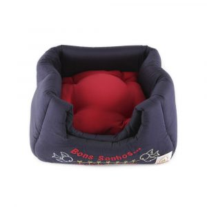 Cama Mágica 3x 1 Bordada Bag Dog