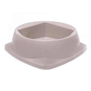 Comedouro Plástico Plast Pet 160ml 1295-BEGE