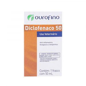 Diclofenaco 50 injetável Ouro Fino 50mL