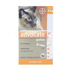 Advocate para Gatos de até 4Kg 0,4mL