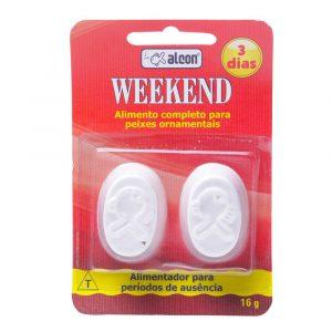Ração para Peixe Alcon Weekend 3 dias com 02 tabletes