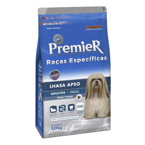 Ração Premier Raças Específicas Cães Adultos Lhasa Apso 1kg