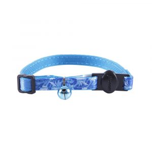Coleira Fashion para Gatos Azul 320448 Petmate