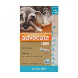 Advocate para Cães de 4 à 10Kg