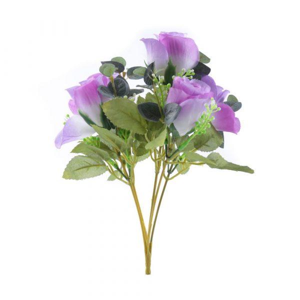 Bouquet Botão de Rosa X5 Lavanda 22388-031