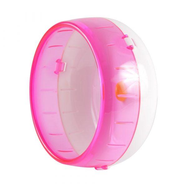 Brinquedo Roda para Hamster M Rosa PS5919