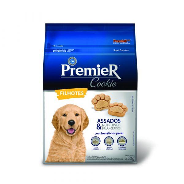 Petisco Premier Cookie para Cães Filhotes 250g