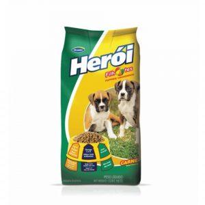 Ração Herói para Cães Filhotes Sabor Carne 8Kg