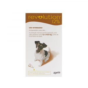 Revolution 12% para Cães de 5,1Kg a 10Kg