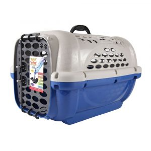 Caixa de Transporte Panther Plast Pet N03 Azul