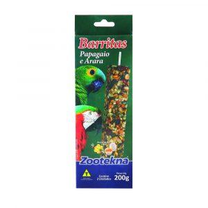 Barritas Zootekna para Papagaios e Araras 200g
