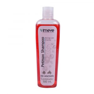 Shampoo Morango com Chantilly Petmax 500mL
