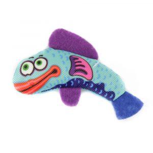 Brinquedo Caricat Peixe com Catnip Jambo Pet