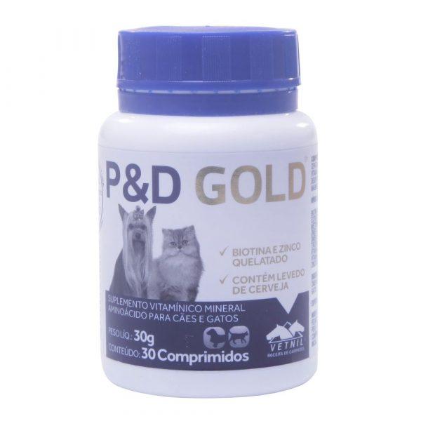 P & D Gold com 30 Comprimidos