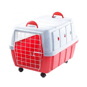 Caixa de Transporte Nº 03 Cinza/Vermelha Rotoplas