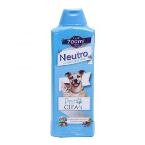 Shampoo Neutro Pet Clean para Cães e Gatos 700ml