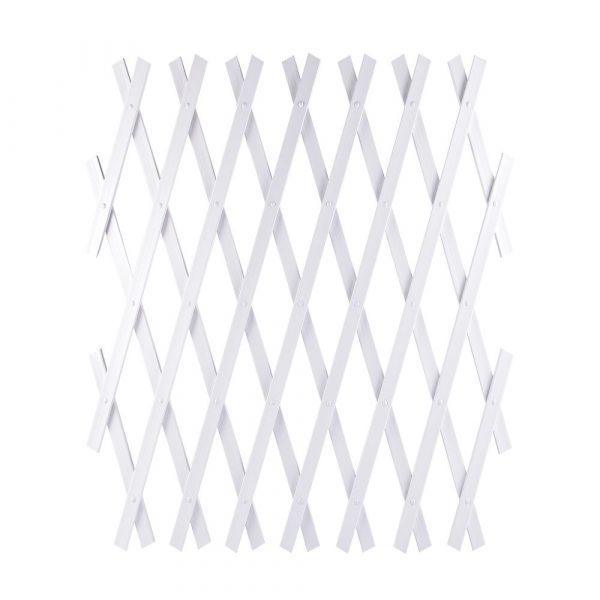Treliça Branca de PVC 1.0 x 2.0 Top Garden