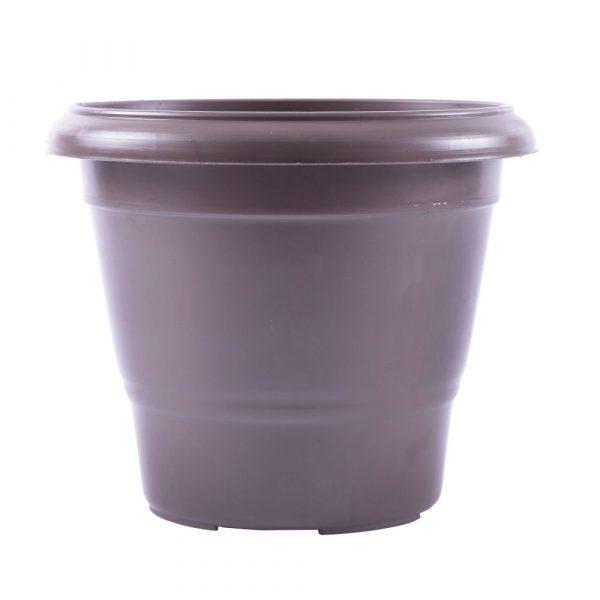 Vaso Plástico Nutriplan Terracota Cor Tabaco N01