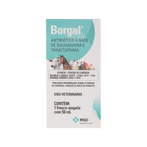 Borgal Injetável 50mL MSD