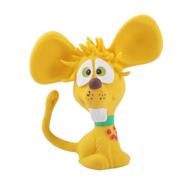 Brinquedo Látex Ratinho Amf cor Amarelo 40 395994